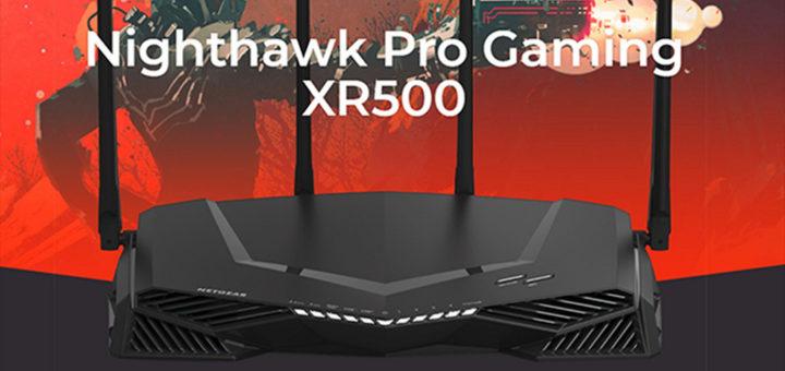 HK$200 砍價,NETGEAR XR500 電競 Wi-Fi 路由器上市首降